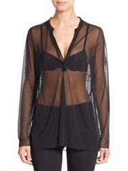 Wolford Shade Blouse Black