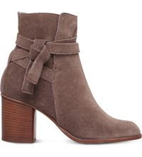 Carvela Sleepy Suede Ankle Boot Taupe