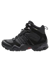 Adidas Performance Fast X Gtx Walking Boots Core Black Dark Grey Power Red