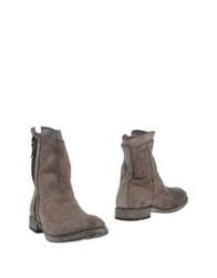 Nylo Ankle Boots Brown