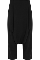 Lanvin Cropped Twill Tapered Pants