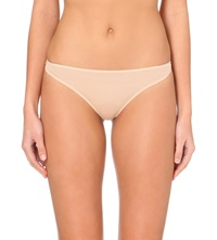 Hanro Ultra Light Cotton Thong Skin