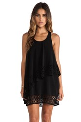 Jarlo Chloe Mini Dress Black