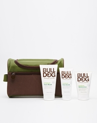 Bulldog Grooming Kit Washbag Green
