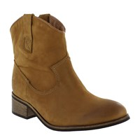 Marta Jonsson Western Style Ankle Boot Tan