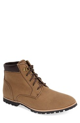 Woolrich 'Beebe Mid' Water Resistant Canvas Boot Men Brush Brown Canvas