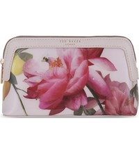 Ted Baker Citrus Bloom Cosmetic Case Nude Pink