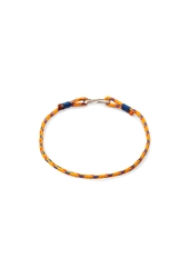 Forever 21 Fish Hook Rope Bracelet Orange