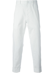 Iceberg Cropped Trousers White