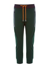 Dsquared2 Cotton Blend Sweatpants Green