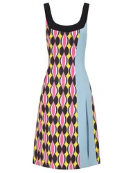 Jonathan Saunders Hot Pink Sleeveless Siri Dress Multi