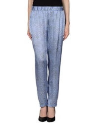 Markus Lupfer Casual Pants Lilac