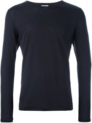 Closed Crew Neck Jumper Blue