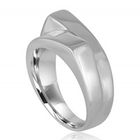 Marshelly's Jewelry Unisex Arc Span Ringsterling Silver Polish 10