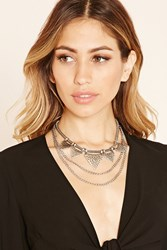 Forever 21 Chain Statement Necklace