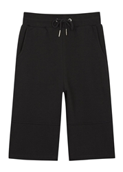 Blood Brother Power Black Cotton Jersey Shorts