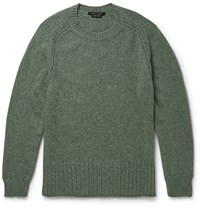 Marc Jacobs Melange Cashmere Sweater Green