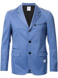 Bedwin And The Heartbreakers Single Breasted Blazer Blue