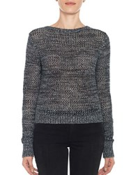 Joe's Jeans Reed Cropped Sweater Onyx