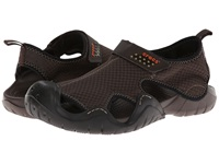 Crocs Swiftwater Sandal Espresso Espresso Men's Sandals Brown