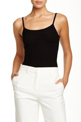 Giorgio Armani Scoop Neck Knit Tank Black