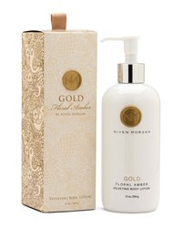 Gold Body Lotion 12 Oz. Niven Morgan