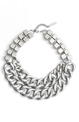 Lafayette 148 New York Women's Double Chain Link Necklace