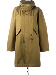 Sofie D'hoore 'Clever' Military Coat Green
