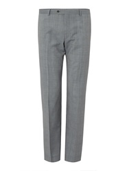 Corsivo Bremba Prince Of Wales Check Suit Trousers Grey