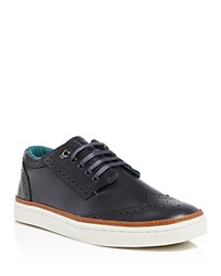 Ted Baker Iivor Wingtip Oxfords Sneakers Dark Blue