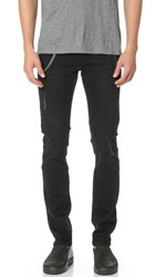 The Kooples Chain Jeans Black