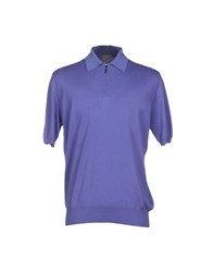 Cruciani Knitwear Jumpers Men Purple