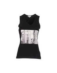 Colombo Sleeveless T Shirts Black