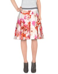 Patrizia Pepe Skirts Knee Length Skirts Women White