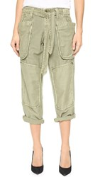Nlst Field Pants Light Olive