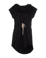 Minimal Dresses Short Dresses Women Black