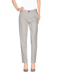 Diesel Trousers Casual Trousers Women Light Grey