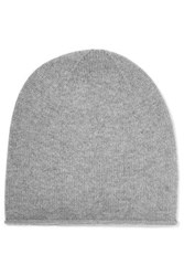 N.Peal Cashmere Cashmere Beanie Gray