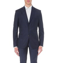 J. Lindeberg Donnie Soft Legend Wool Blazer Blue