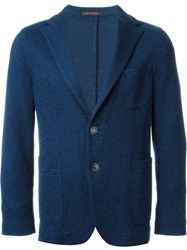 The Gigi Two Button Blazer Blue