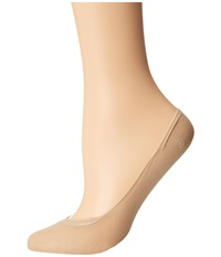 Wolford Cotton Footsies Sock Sisal Women's No Show Socks Shoes Taupe