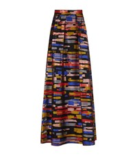Escada Reeda Maxi Skirt Female Multi