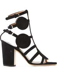 Laurence Dacade 'Halistair' Cut Out Sandals Black