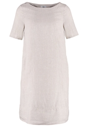 Noa Noa Summer Dress Silver Gray