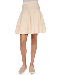 Jonathan Simkhai Fit And Flare Knit Skirt Ballet