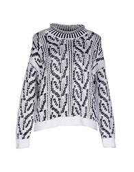Stefanel Knitwear Turtlenecks Women White
