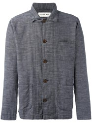 Universal Works 'Bakers' Jacket Blue