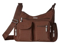 Baggallini Everywhere Bagg Mocha Cross Body Handbags Brown
