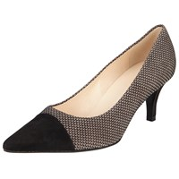 Peter Kaiser Siren Pointed Toe Stiletto Court Shoes Taupe Print