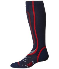 Fox River Vvs Lw Pro Navy Red Crew Cut Socks Shoes Multi